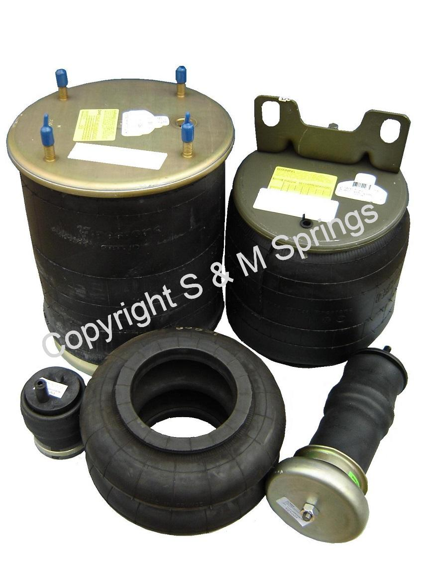 COMMERCIAL AIR BAGS AIR SPRINGS – Municipal Truck Bus Trailer