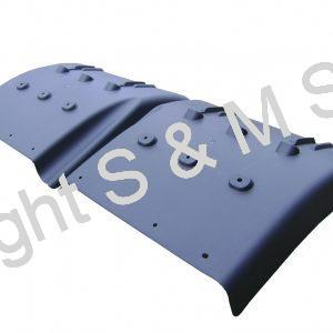 1357599 1357600 Scania Rear Lower Wing Sections
