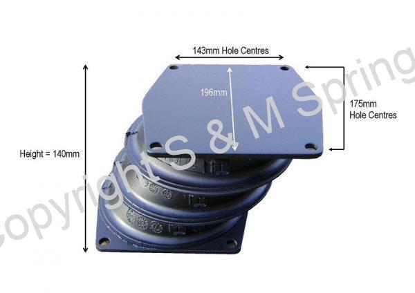 613617-3 DENNIS Spring Bolster Elite NM1009 dimensions