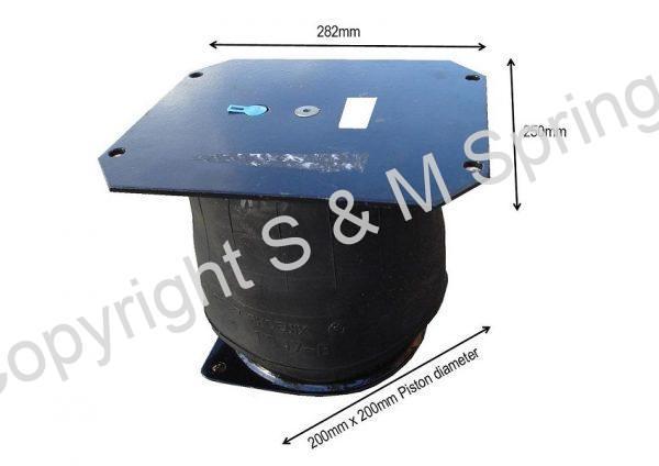 614672-11 DENNIS Elite Air Bag Rear dimensions