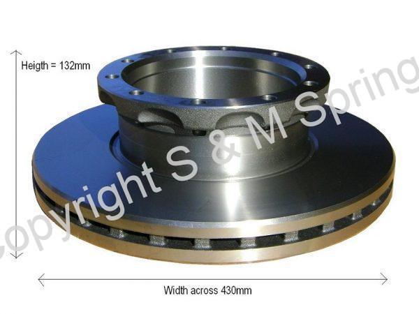 DEP102878 DENNIS Elite Brake Disc with ABS Ring DEP102593