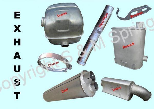 Exhaust Systems Truck Bus DAF SCANIA RENAULT VOLVO