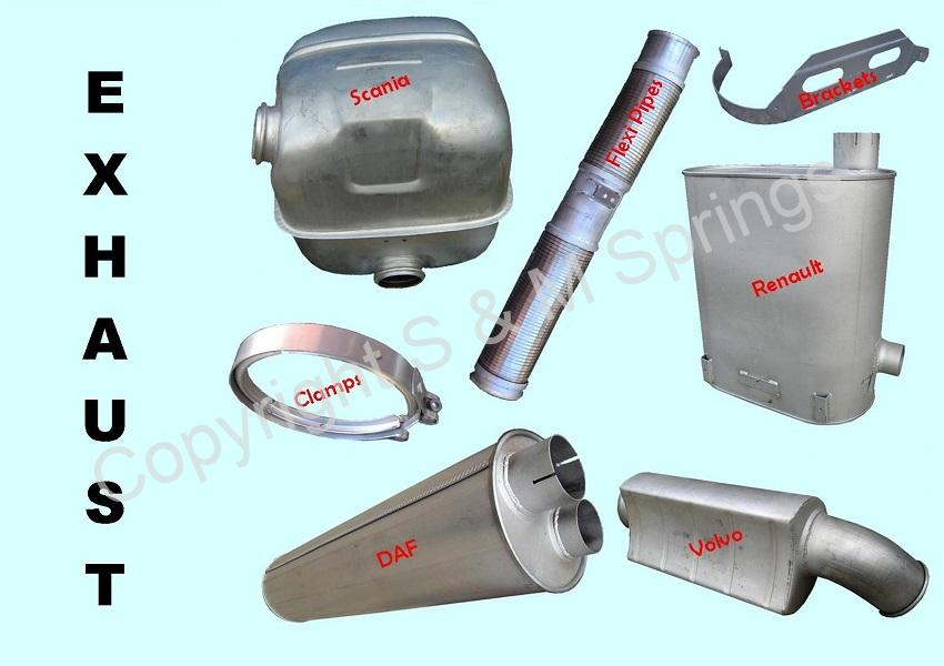 EXHAUST SYSTEMS Truck Bus – DAF-ERF-IVECO-MAN-MERCEDES-RENAULT-SCANIA-SEDDON-VOLVO