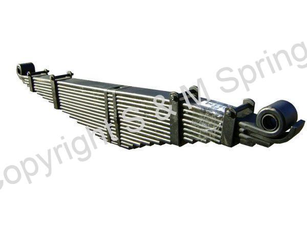 812379 DENNIS Elite Spring Rear 14 Leaf Overslung