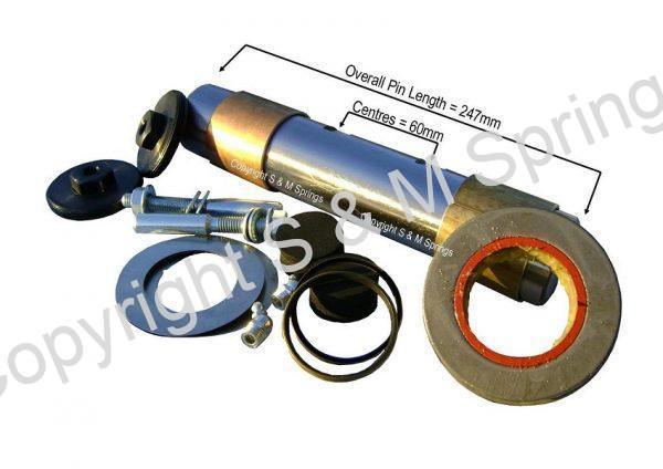 DEP102985 DEP102986 DENNIS Elite 2 King Pin Kit Wheel KP3017 dimensions