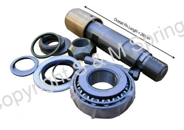 203925-0 ERF King-Pin Kit Wheel Kit is shown dimensions