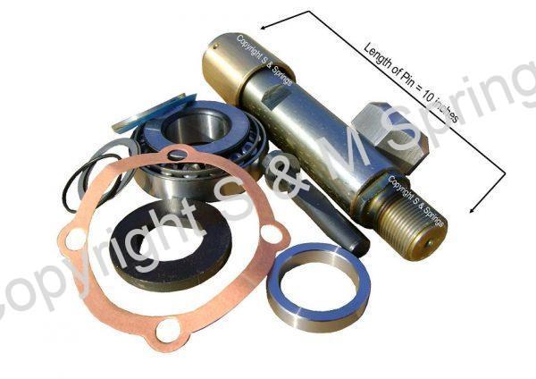 653168-1 653168-2 DENNIS King Pin Kit Wheel dimensions 653168-3 653168-4