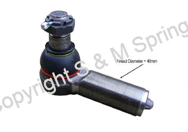 02205000400 SAF Rear Steer Ball Joint R.H.T.dimensions