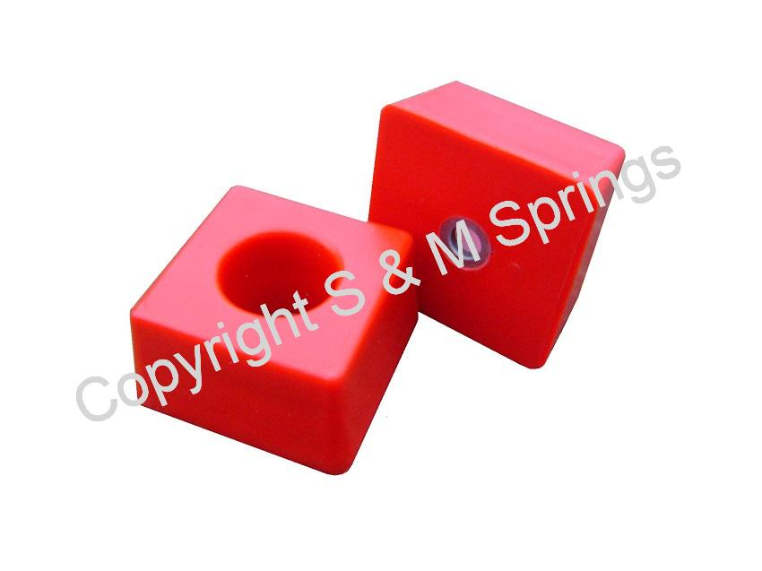 1455837 FODEN Bump Stop Rear (Red)