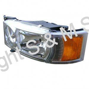2416144 2241846 2000050 SCANIA Headlamp L.H. H7 24v