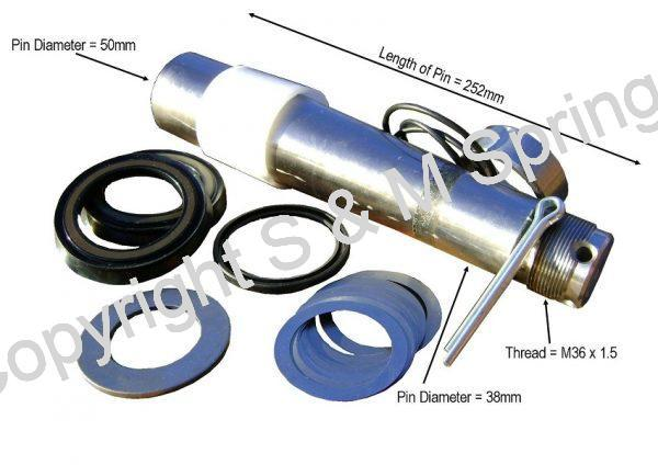 3090266 1621564 VOLVO King-Pin Kit dimensions