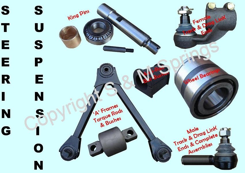 COMMERCIAL STEERING & SUSPENSION PARTS – Municipal Truck Bus Trailer