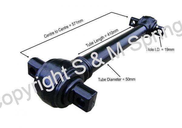 81432206129 ERF Torque Rod 81432206098 81432206096 dimensions